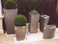 Capital Garden Pflanzentopf Geo Oval Planter