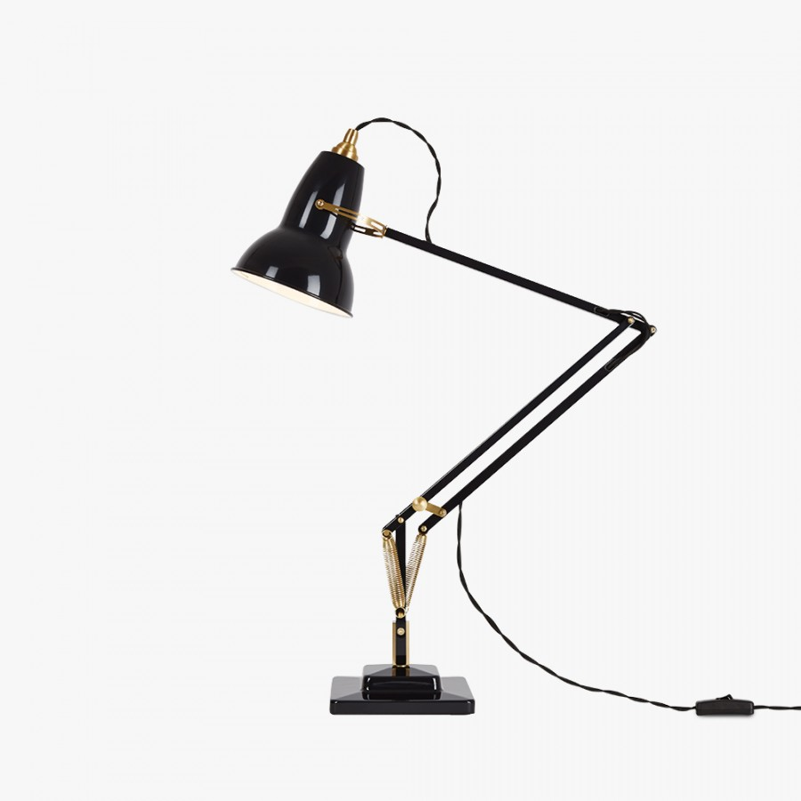 Anglepoise Tischleuchte 1227 Messing Original