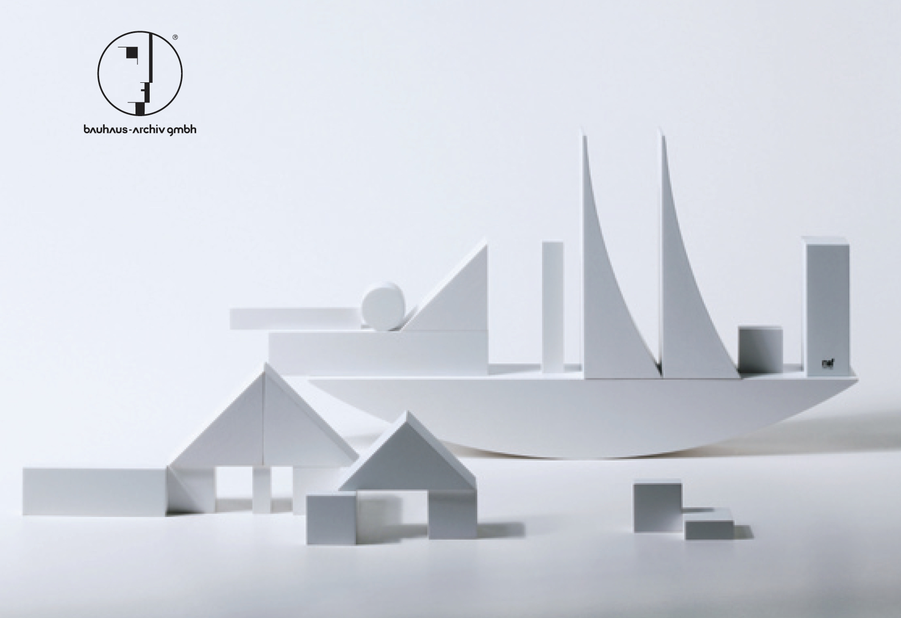 Bauhaus Building Game Edition White by Naef