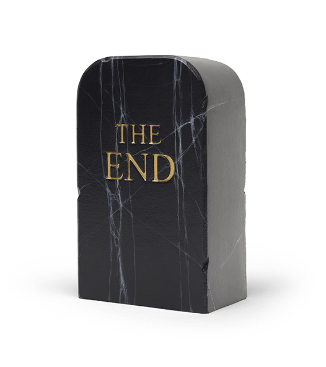 Gufram Hocker THE END BLACK