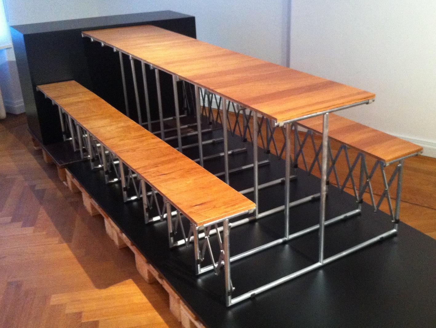 Tisch tabula rasa von Ginbande Design im Designlager Dülmen