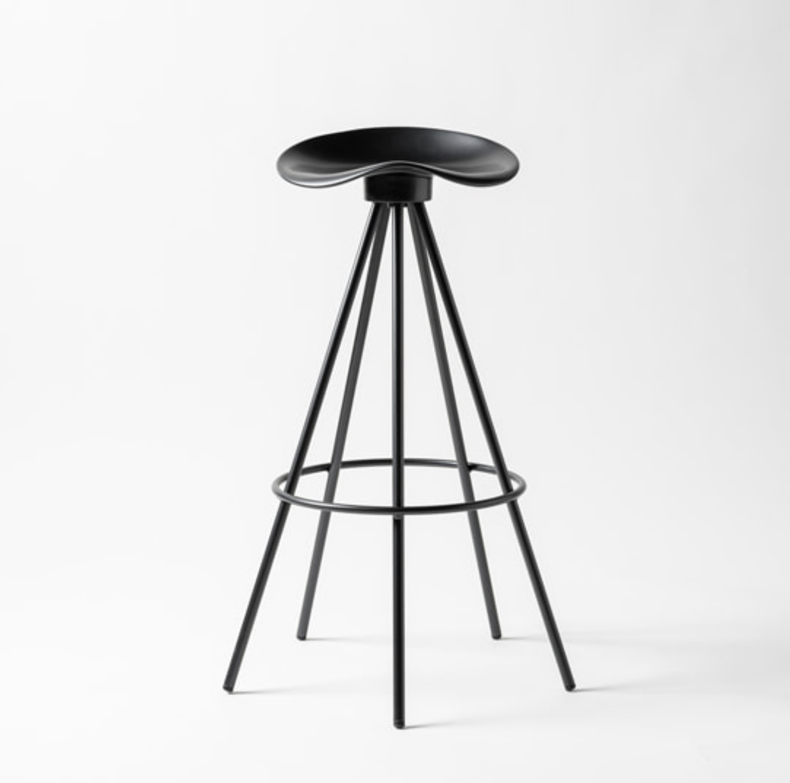 Barstool JAMAICA black by Bd Barcelona Design