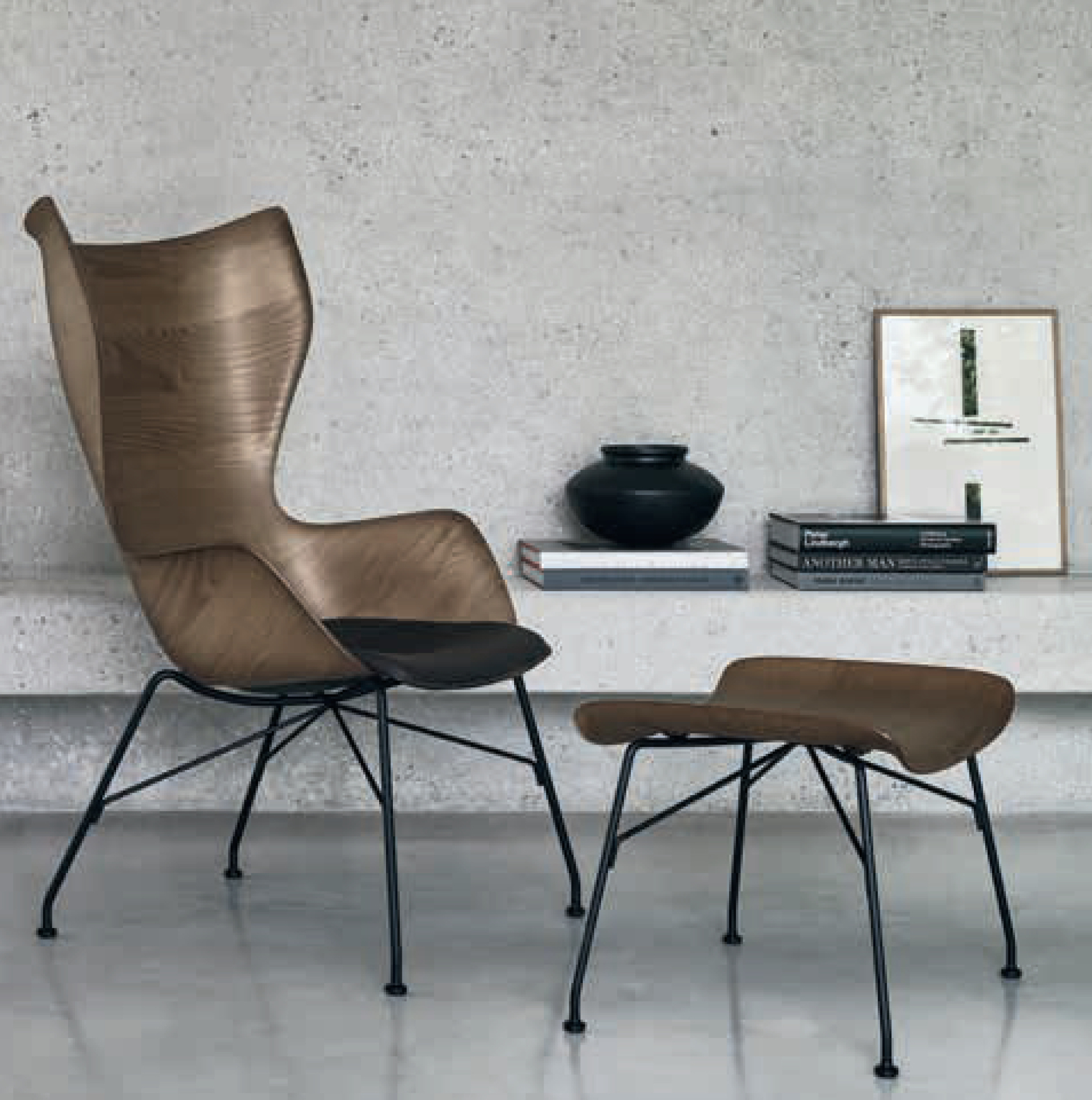 Kartell Chair S / WOOD